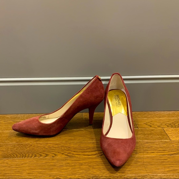 Michael Kors Burgundy Heels